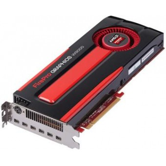 AMD FIREPRO W9000 6G GDDR5 PCI-E EYEFINITY 6 EDITION / STEREO 3-PIN DIN FULL