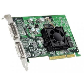 Matrox SVGA card Видеокарта  P750LX AGP,64Mb DDR  за едновременна работа на два монитора
