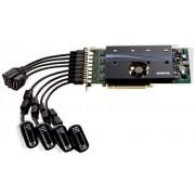 Видеокарта MATROX M9188E 2048LAF PCIex16, за едновременна работа на 8 монитора с DP или DVI  вход