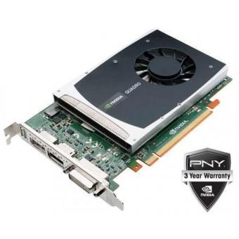 Видеокарта PNY Quadro  Kepler K2000 2GB GDDR 5 PCI EXP DVI