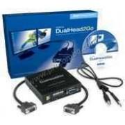 Външна видеокарта  за едновременна работа на  2 монитора  с DP вход- MATROX-D2G-DP-IF