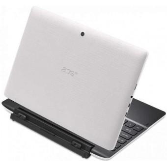Таблет Acer Aspire Switch SW3-013-185Q (NT.MX2EX.008), 10.1 инча IPS, четириядрен, Windows 8.1 с докинг станция, бял
