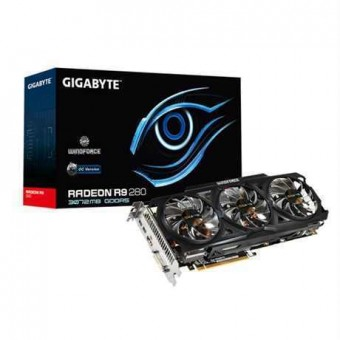 Видеокарта Gigabyte AMD Radeon R9-280, R928WF3OC-3GD, 3GB, 384bit DVI-I / mini DisplayPort*2 / HDMI*1