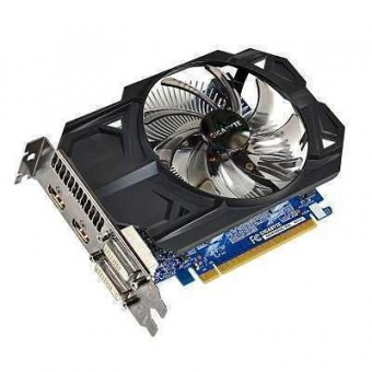 Видеокарта Gigabyte GTX 750  N750OC-2GD,  2048MB GDDR5, Dual-link DVI-I*1, DVI-D*1, HDMI*2