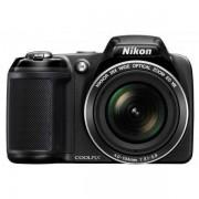 Nikon Coolpix L330, Черен + Калъф + Карта 8GB (Class 10)