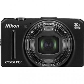 Nikon Coolpix S9700, Черен