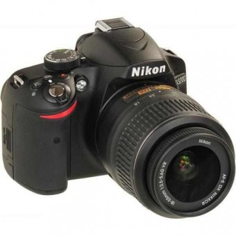 NIKON D3200+18-55MM VR II KIT+CF-EU05 BAG+SDHC 8GB CLASS 10