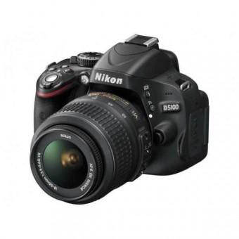 Nikon D5100 + Обектив 18-55VR + Обектив 55-200VR + Чанта CF-EU05 + Карта 8GB (Class 10)