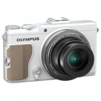 Olympus Stylus XZ-2 + Карта 8GB (Class 10), Бял