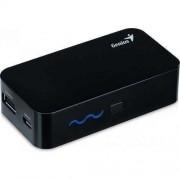 Универсалнo преносимо зарядно за телефон или таблет 5200mAh Genius ECO-U521 черен/бял цвят