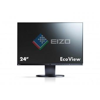 Монитор EIZO FlexScan  EV2455-BK, 24.1 инча, IPS панел, черен