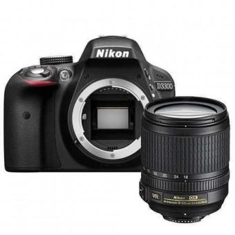 Nikon D3300 + Обектив 18-105VR + Карта 8GB (Class 10)