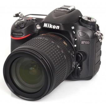 Nikon D7100 + Обектив 18-105VR + Чанта CF-EU05 + Карта 8GB (Class 10)