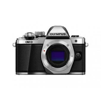 Професионален фотоапарат Olympus OM-D E‑M10 Mark II, 16MP тяло, тъч, Wi Fi контрол, черен/сребрист