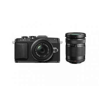 Професионален фотоапарат Olympus PEN E-PL7 тяло, 16MP, тъч, Wi-Fi контрол, черен/сребрист/бял