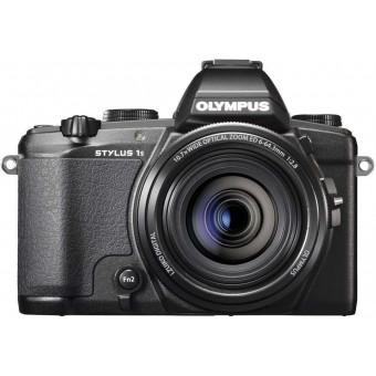 Цифров фотоапарат Olympus Stylus 1s, 12MP, черен