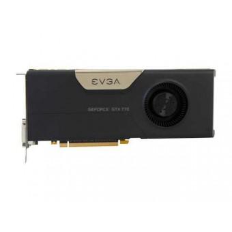 Видеокарта nVidia EVGA e-GeForce GTX770 GDDR5 2GB, 256 bit, DVI-I, DVI-DI,HDMI,DP, 02G-P4-2770-KR