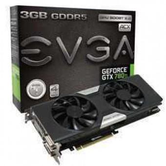 Видеокарта nVidia EVGA e-GeForce GTX760 GDDR5 4GB, 2xDVI,HDMI,DP, 04G-P4-2767-KR