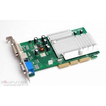 Видеокарта nVidia SuperGraphic FX5500 256MB 128bit TV DVI AGP